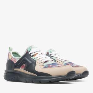CAMPER Drift Sneaker Lamper Grey Beige Mint SZ 8